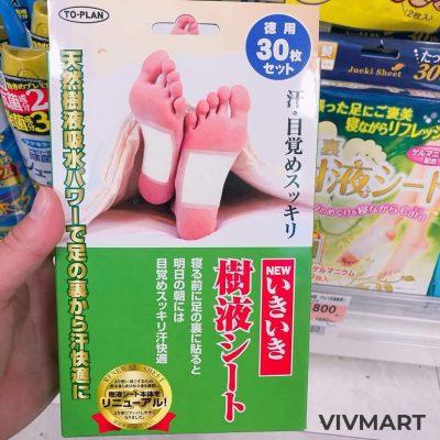 Miếng thải độc chân nhật-3