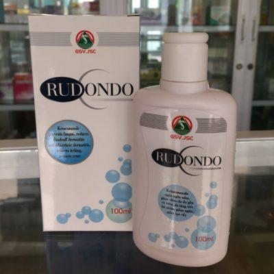 dầu tắm, gội chống nấm Rudondo 100ml