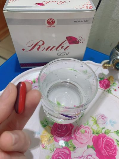 Viên uống làm đẹp da RUBI GSV