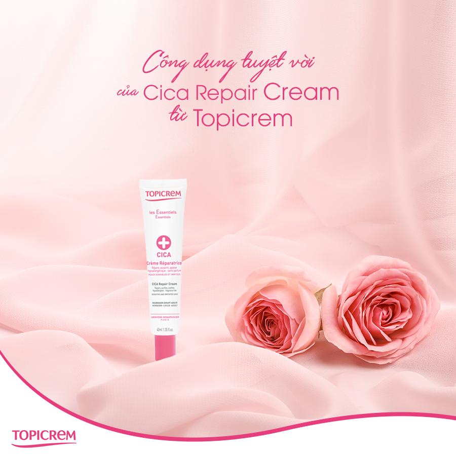 Kem làm lành da Topicrem CICA Soothing Cream Repair