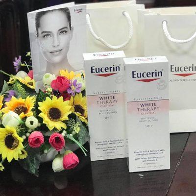 Sữa Dưỡng Thể Trắng Sáng Mịn Da Eucerin White Therapy SPF7