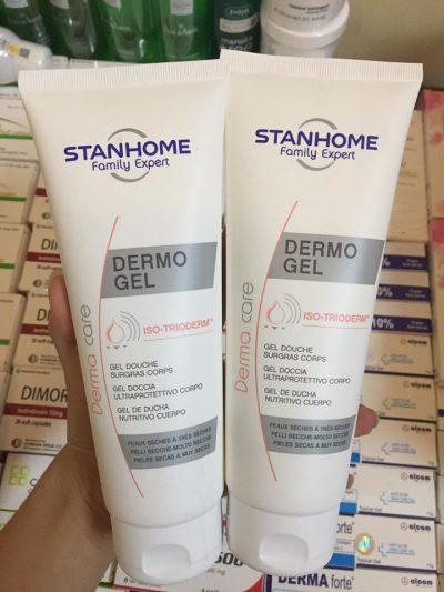 Sữa tắm không xà phòng cho da khô va a nhay cảm Stanhome Dermo Gel 250ml