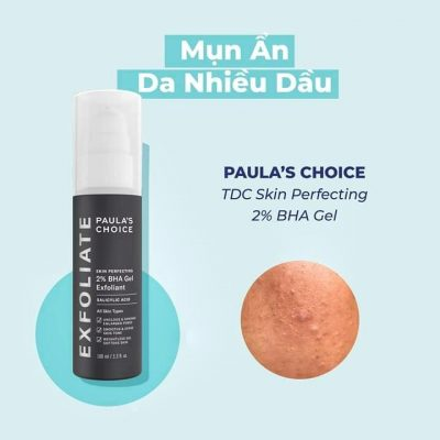 Gel đặc trị loại bỏ tế bào chết Paula's Choice SKIN PERFECTING 2 % BHA Gel Exfoliant 100ml