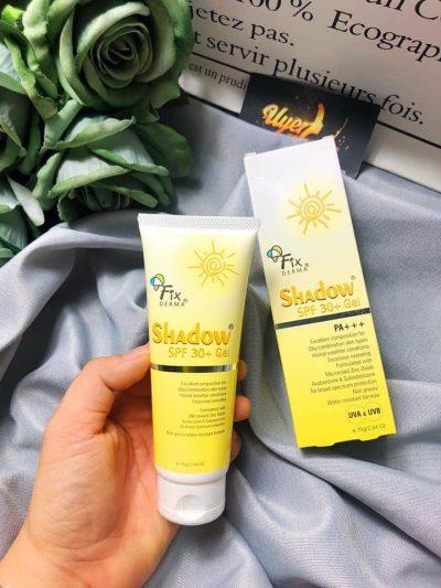 Gel chống nắng toàn thân Fixderma Shadow SPF 50+ Cream