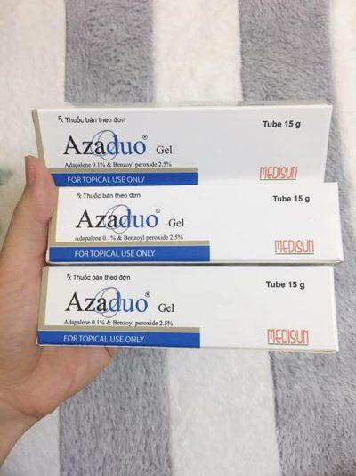 Gel trị mụn trứng cá Azaduo gel