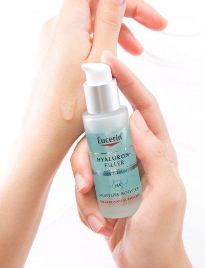 Tinh chất cấp ẩm và ngăn ngừa lão hóa Eucerin Hyaluron- Filler Moisture Booster
