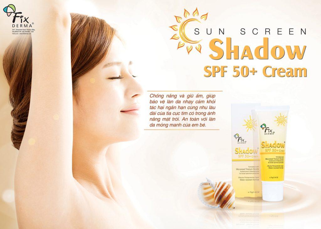 Gel Chống Nắng Toàn Thân Fixderma Shadow SPF 50+