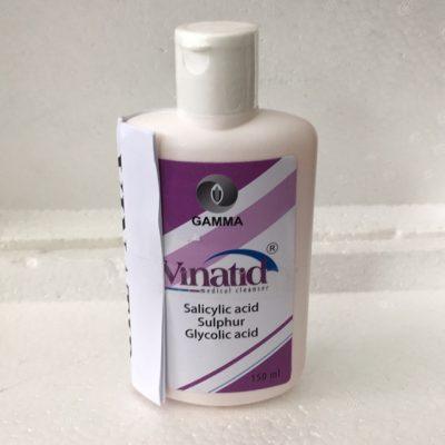 sữa rửa mặt, sữa tắm trị mụn Vinatid 150ml3