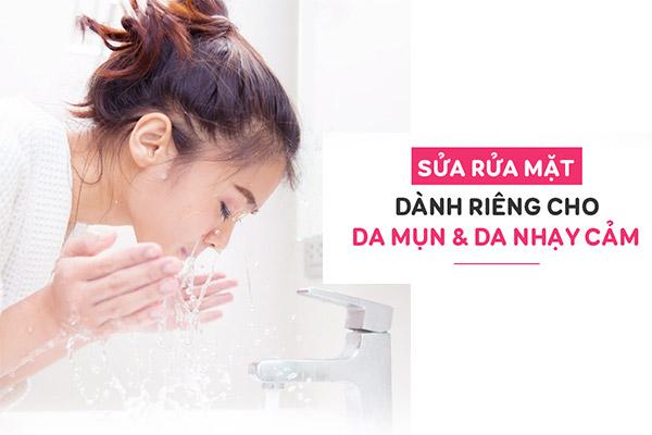 Sữa rửa mặt dạng gel cho da dầu mụn Aknicare Cleanser 200ml