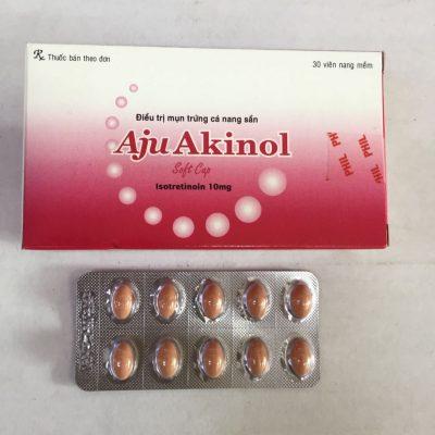 Thuốc trị mụn nặng Aju Akinol