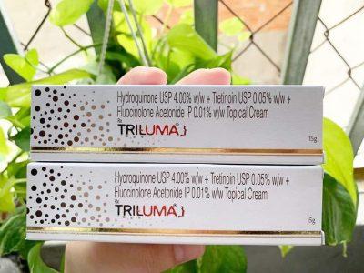 Kem trị nám Triluma