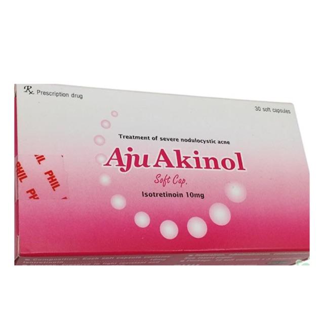 Thuốc điều trị mụn trứng cá nang sần nặng Aju Akinol