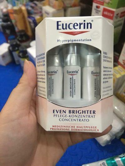 Tinh chất trị nám sáng da Eucerin Even Brighter Pflege-Konzentrat với 6 ống x 5 ml