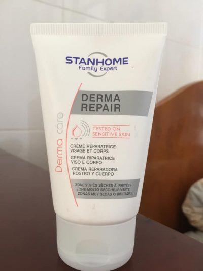 Kem dưỡng phục hồi cho da khô và da nhạy cảm Stanhome Family Expert derma repair 100ml