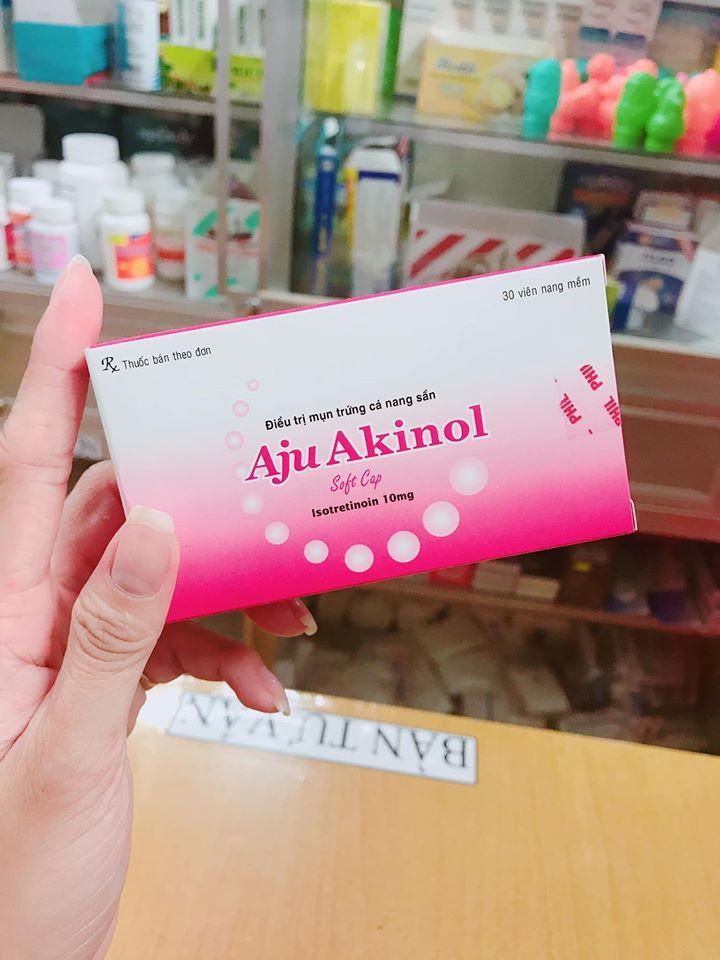 Thuốc trị mụn trứng cá Aju Akinol
