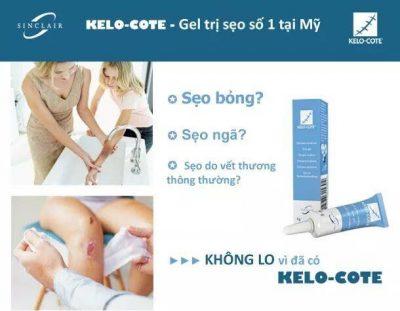 Kem trị sẹo Kelo Cote 6g
