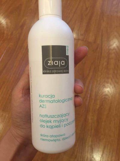 Dầu tắm mềm mịn da Med Atopic Ziaja 270ml