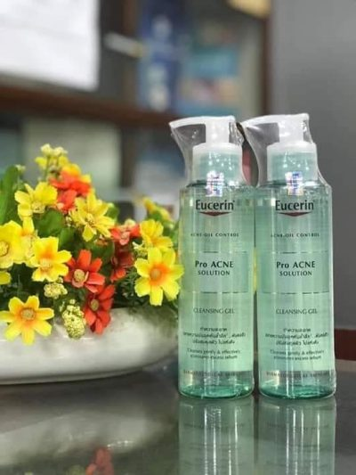 Gel rửa mặt cho da mụn Eucerin Pro Acne Solution Cleansing Gel 200ml