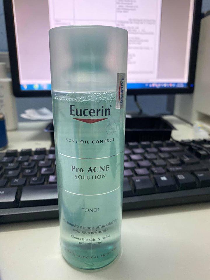 Nước cân bằng Eucerin Pro Acne Toner 200ml
