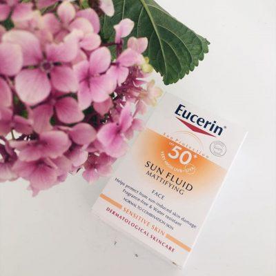 Kem chống nắng Eucerin Sun Fluid Mattifying SPF 50+