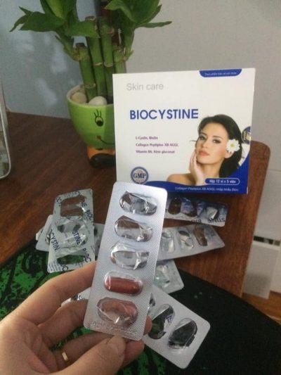 Viên uống đẹp da Biocystine