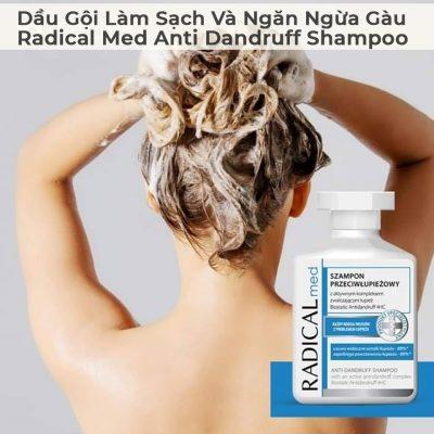 Dầu Gội Làm Sạch Và Ngăn Ngừa Gàu Radical Med Anti Dandruff Shampoo-1