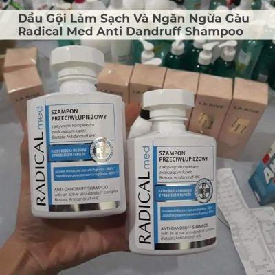 Dầu Gội Làm Sạch Và Ngăn Ngừa Gàu Radical Med Anti Dandruff Shampoo-2