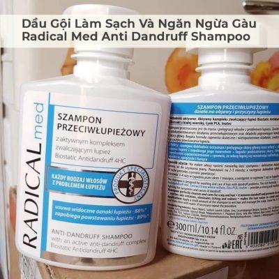 Dầu Gội Làm Sạch Và Ngăn Ngừa Gàu Radical Med Anti Dandruff Shampoo-3