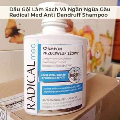 Dầu Gội Làm Sạch Và Ngăn Ngừa Gàu Radical Med Anti Dandruff Shampoo-4