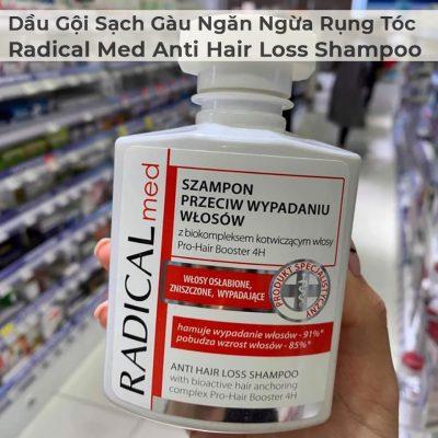 Dầu Gội Sạch Gàu Và Ngăn Ngừa Rụng Tóc Radical Med Anti Hair Loss Shampoo-2