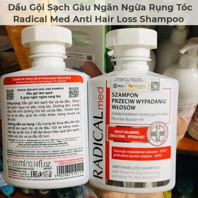 Dầu Gội Sạch Gàu Và Ngăn Ngừa Rụng Tóc Radical Med Anti Hair Loss Shampoo-4