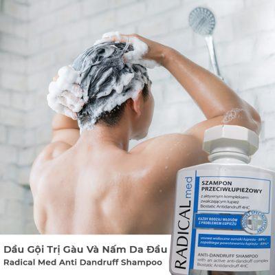 Dầu Gội Trị Gàu Và Nấm Da Đầu Radical Med Anti Dandruff Shampoo-2