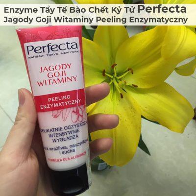 Enzyme Tẩy Tế Bào Chết Kỷ Tử Perfecta Jagody Goji Witaminy Peeling Enzymatyczny-1