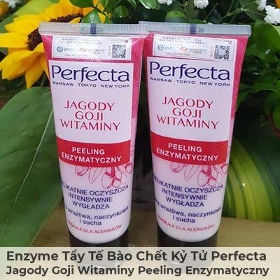 Enzyme Tẩy Tế Bào Chết Kỷ Tử Perfecta Jagody Goji Witaminy Peeling Enzymatyczny-4