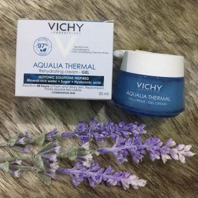 Gel Dưỡng Ẩm Cấp Nước Vichy Aqualia Thermal Gel Cream 50ml-5