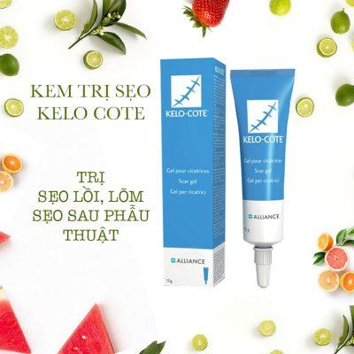 gel trị sẹo thâm hiệu quả Kelo Cote