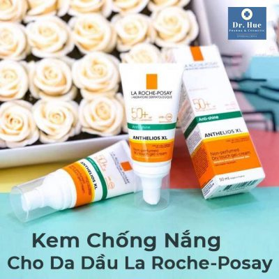 Kem Chống Nắng Cho Da Dầu La Roche-Posay Anti-Shine Anthelios XL Non-Perfumed Dry Touch Gel Cream SPF50+