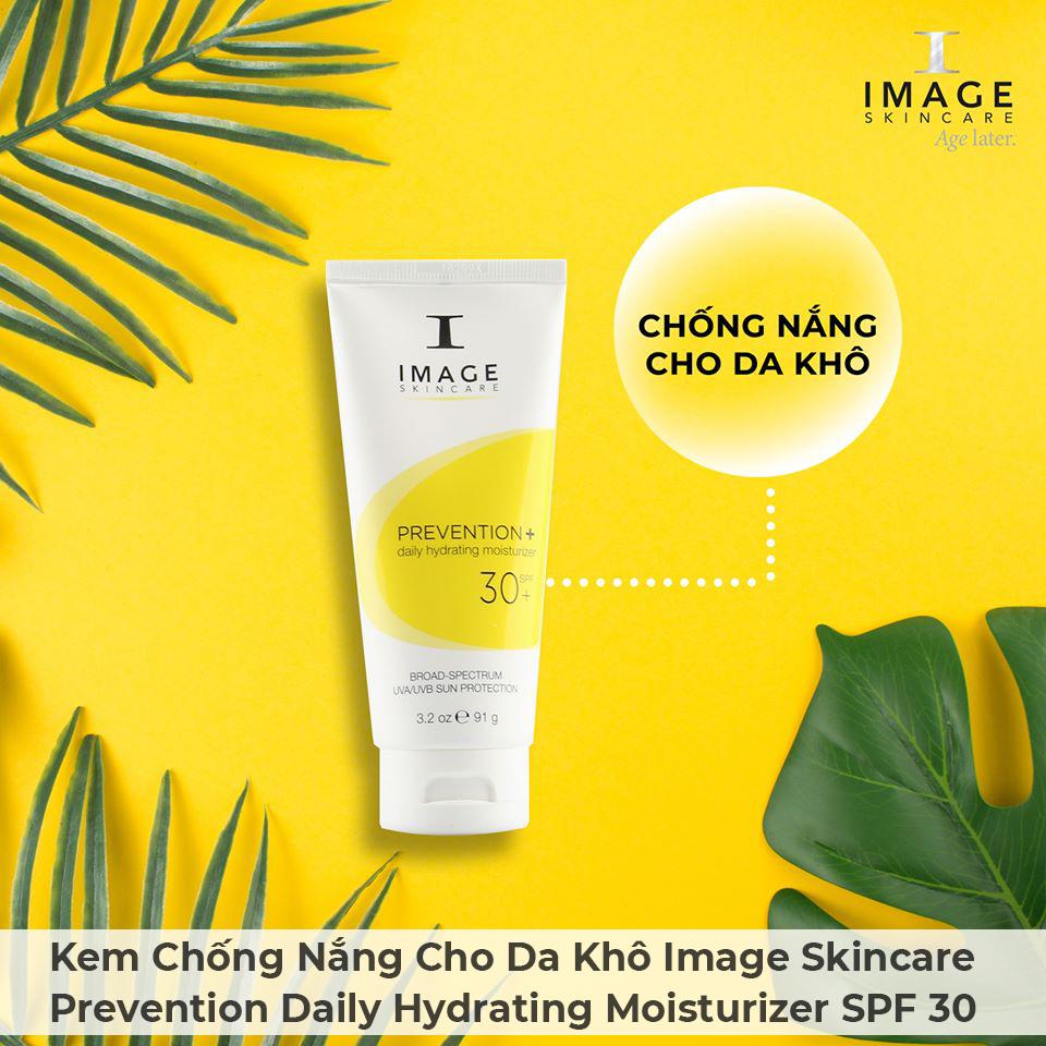 Kem Chống Nắng Cho Da Khô Image Skincare Prevention Daily Hydrating Moisturizer SPF 30-1
