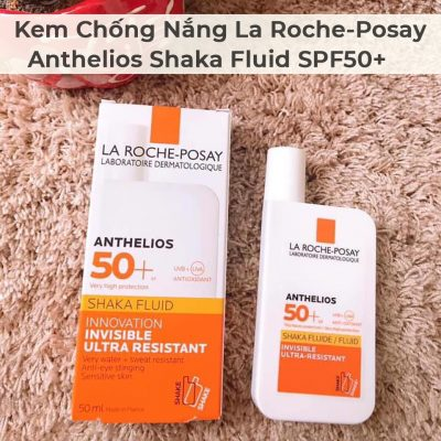 Kem Chống Nắng La Roche-Posay Anthelios Shaka Fluid SPF50+-11