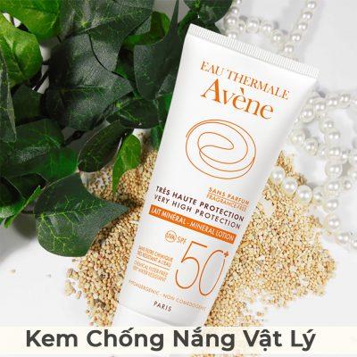 Kem Chống Nắng Vật Lý Avene Very High Protection Mineral Lotion SPF50 100ml-1
