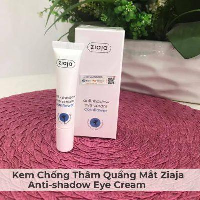 Kem Chống Thâm Quầng Mắt Ziaja Anti-shadow Eye Cream 15ml-4