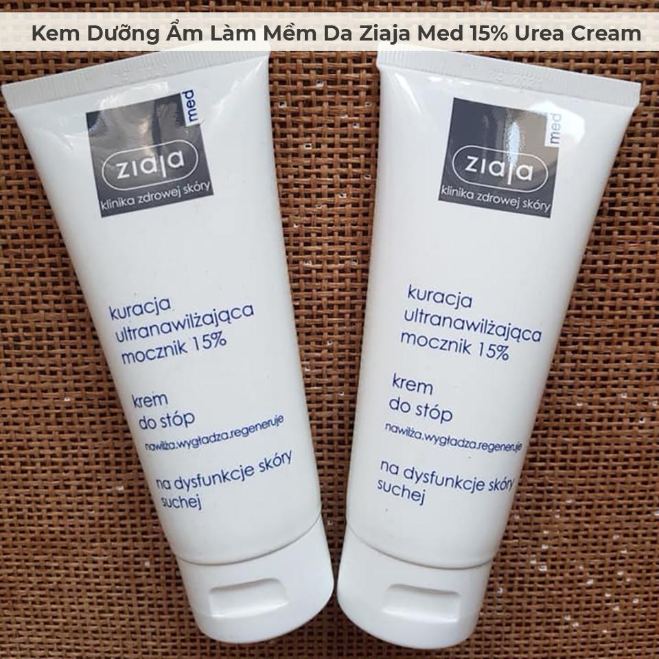 Kem Dưỡng Ẩm Làm Mềm Da Ziaja Med 15% Urea Cream 100ml-6