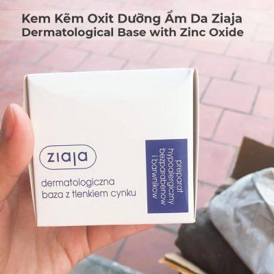 Kem Kẽm Oxit Dưỡng Ẩm Da Ziaja Dermatological Base with Zinc Oxide 80g-5