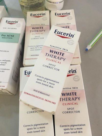 Kem Làm Giảm Vết Thâm Nám Tàn Nhang Eucerin White Therapy Spot Corrector 5ml