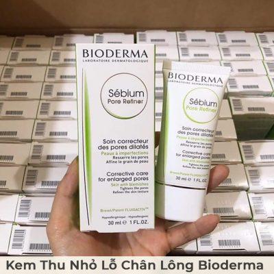 Kem Thu Nhỏ Lỗ Chân Lông Bioderma Sébium Pore Refiner 30ml-5