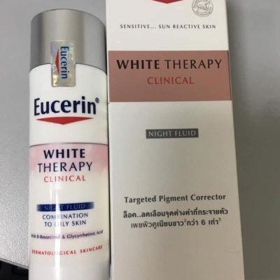 Kem dưỡng trắng da ban đêm Eucerin White Therapy Clinical Night Fluid 50ml 1a