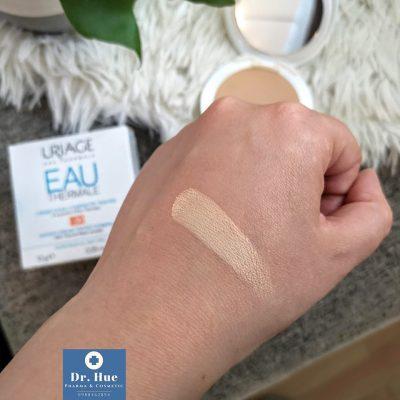 Phấn tươi trang điểm chống nắng che khuyết điểm Uriage Bariésun Water cream tinted compact SPF30