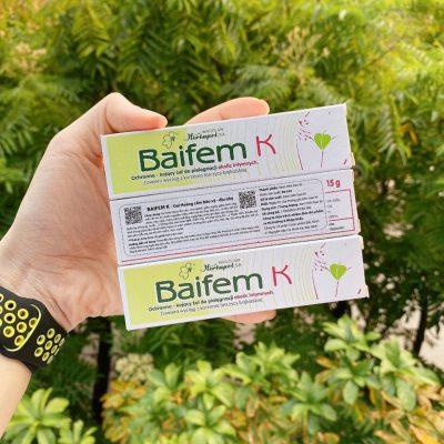 Kem trị muỗi đốt và côn trùng cắn Baifem K-3
