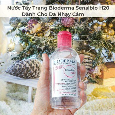 Nước Tẩy Trang Bioderma Sensibio H20 Dành Cho Da Nhạy Cảm 500ml-2