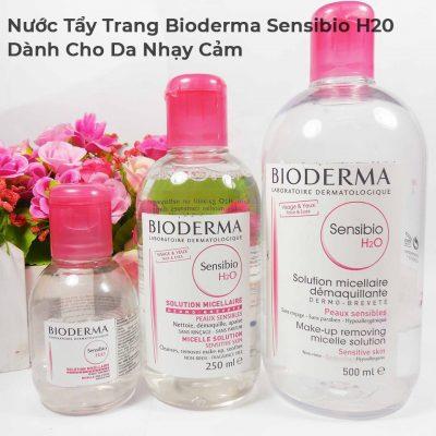 Nước Tẩy Trang Bioderma Sensibio H20 Dành Cho Da Nhạy Cảm 500ml-3